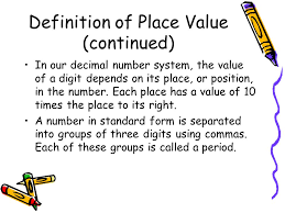 place value for 2nd grade what are place values 2nd grade ppt