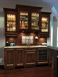 Glass Bar Cabinet Designs Kitchen Hardwood Flooring Design Ideas With White Theme Wall Also