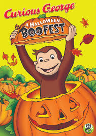 curious george is excited about halloween in this boofest kid