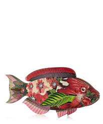 abracadabra fish ornament liberty