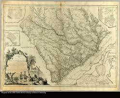 a map of the province of south carolina with all the rivers