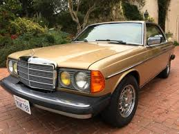 mercedes 300d coupe mercedes 300cd coupe 1 owner diesel exquisite and gold