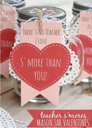 s day gifts for friends s mores jar valentines free printables and jar