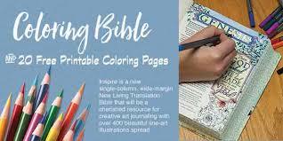 coloring bible u0026 20 free coloring printables biblejournallove