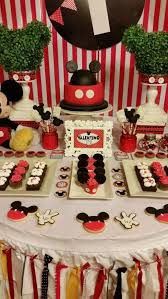 themed dessert table 29 magical mickey mouse party ideas spaceships and laser beams