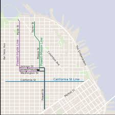san francisco map cable car which sf cable car route is right for you here s an introduction