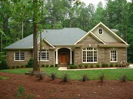 ranch style house plans with walkout basement exceptional house plans for ranch style homes brick amusing home