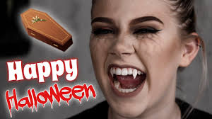 Vampire Halloween Makeup Tutorial Vampire Diaries Inspired Halloween Makeup Tutorial Kaleigh Renee