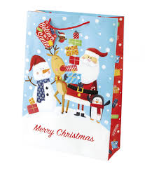 large christmas gift bags christmas kids large gift bag cancer research uk