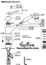 steel delta kitchen faucets parts single hole two handle pull down