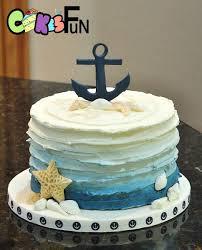 nautical cake nautical themed baby shower cake future house