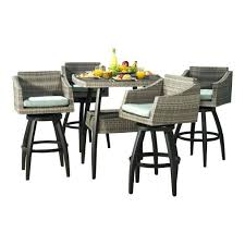 patio bar height dining set patio bar height table and chairs home design ideas and pictures