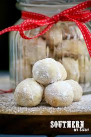 southern in law recipe healthier snowball cookies