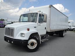 kenworth box truck 2003 freightliner fl70 26 u0027 cargo truck truck sales for less