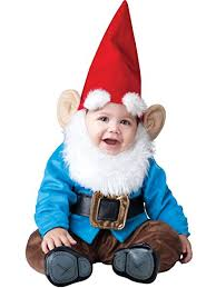 incharacter baby lil garden gnome costume clothing