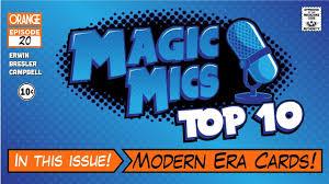 likeness of top ten modern top 10 modern era cards