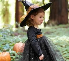 Girls Witch Halloween Costumes Baby Witch Tutu Costume Pottery Barn Kids