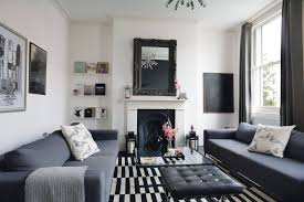 monochrome decorating ideas period living
