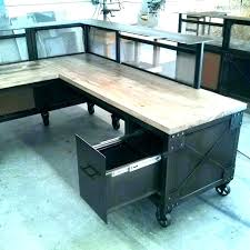 Craigslist Office Desk Office L Desk Wooden L Desk Shaped Distressed Wood Office Steel