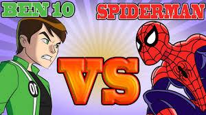 ben 10 spiderman