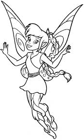 lovely fawn disney fairies coloring lovely fawn