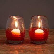 mirage votive holders set of 2 glass votives votive candles