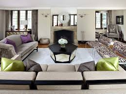 Purple Sofa Pillows by Awesome Purple And Gray Living Room Living Room Romantic Sectional