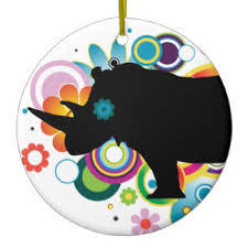 rhino ornaments keepsake ornaments zazzle