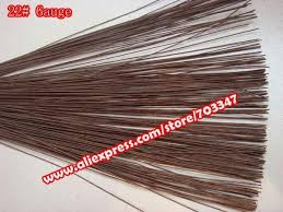 brown floral wire order big discount 600pcs x 22 floral stem wire 11 4 in