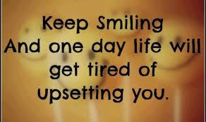 Keep Smiling Meme - word meme