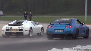 nissan gtr vs bugatti veyron 16 4 grand sport vs nissan r35 gt r vs tt rs vs 991