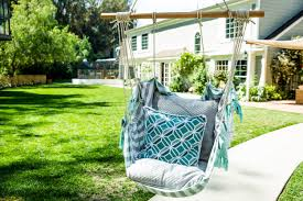 how to home u0026 family diy hanging chair hallmark channel