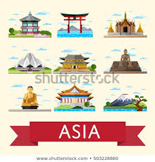travel asia images Travel asia asia landmarks vector asia stock vector royalty free jpg