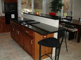 Kitchen Counter Table by Inspiring Modern Kitchen Design With Dark Concrete Table Top