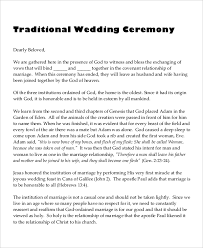 traditional wedding program template 10 wedding program templates free sle exle format