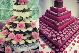 cupcake wedding cake wedding cake of the day cupcake wedding towers
