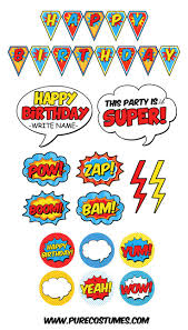 25 party printables ideas superhero party