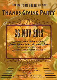 thanksgiving party invites 23 free thanksgiving flyers psd word templates demplates