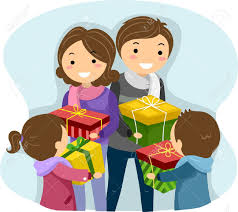 christmas gift exchange stock photos u0026 pictures royalty free