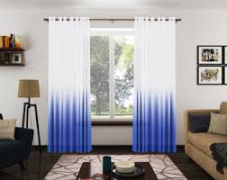 Pinch Pleated Semi Sheer Curtains Sheer Curtains Etsy