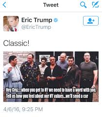 The Sopranos Meme - everything awful about the trump caign in one tweet the