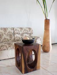 Natural Wood End Tables End Table 16