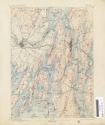 Map Maine Maine Historical Topographic Maps Perry Castañeda Map Collection