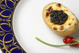 caviar recettes cuisine recette pommes de terre farcies au caviar