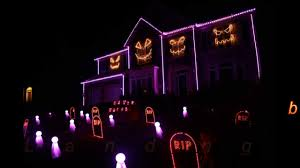 halloween house with lights and music u2013 festival collections