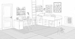 dessin de chambre en 3d dessin de chambre en 3d homewreckr co
