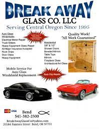 bend oregon auto u0026 residential glass services break away glass