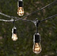 Italian String Lighting by Amazon Com String Light Company Vintage 48 Ft Outdoor Commercial