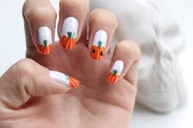 imagenes de uñas decoradas de jalowin uñas decoradas de halloween calabazas vix