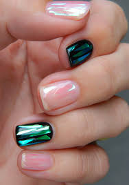 shattered glass nail art design nail and hair care tips and